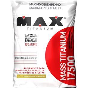 Mass 17500 Max Titanium - Baunilha - 3 Kg