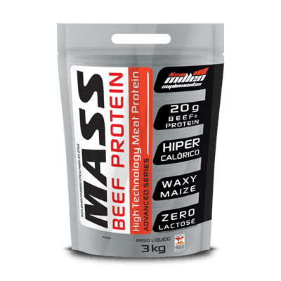 Mass Beef Protein Refil - New Millen (3K, CHOCOLATE)