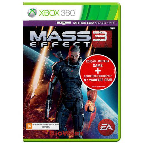 Tudo sobre 'Mass Effect 3: Edição Limitada - Xbox 360'
