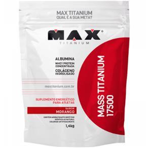 Mass Titanium 17500 1,4kg - Vitamina de Frutas - 1,4 Kg