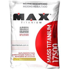 Mass Titanium 17500 (1400g) Refil - Max Titanium - Baunilha