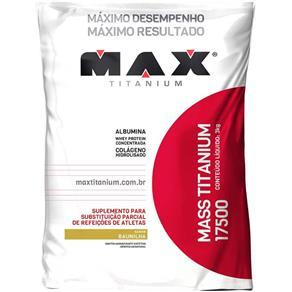 Mass Titanium 17500 - 3 KG - Max Titanium - BAUNILHA