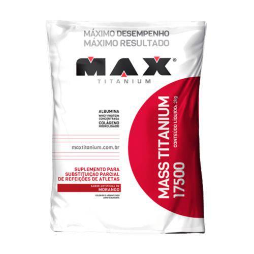 Mass Titanium 17500 3KG Max Titanium - HIPERCALÓRICO
