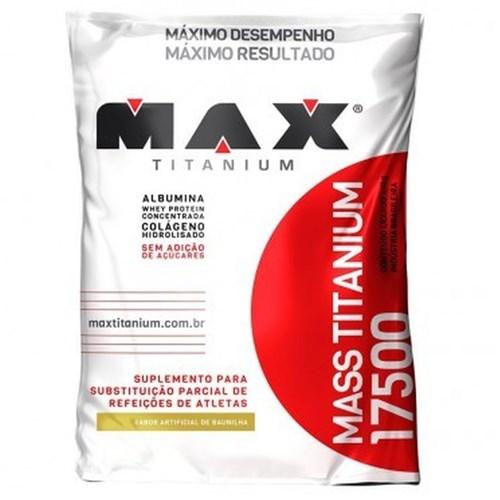 Mass Titanium 17500 3kg - Max Titanium - Baunilha