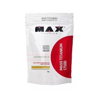 Mass Titanium 17500 3kg - Max Titanium Mass Titanium 17500 3kg Baunilha - Max Titanium