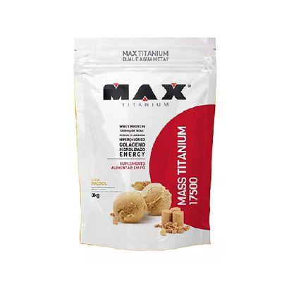 Mass Titanium 17500 3kg - Max Titanium Mass Titanium 17500 3kg Paçoca - Max Titanium