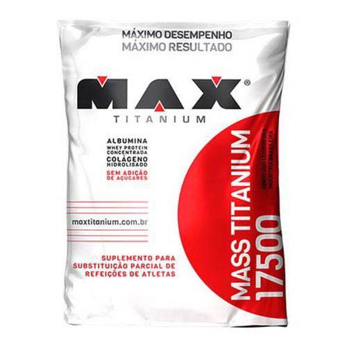 Mass Titanium 17500 Refil (3kg) Sabor Coco - Max Titanium