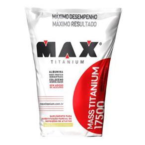 Mass Titanium 17500 - Max Titanium - 3 Kg - Baunilha