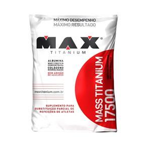 Mass Titanium 17500 - Max Titanium - Morango - 1,4 Kg