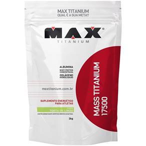 Mass Titanium 17500 Refil (3,0kg) - Max Titanium - 3kg - Torta de Limão