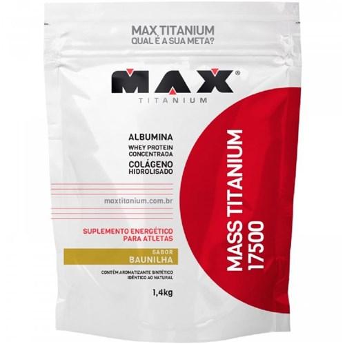 Mass Titanium 17500 Refil 1,4Kg Chocolate - Max Titanium