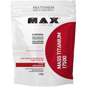 Mass Titanium 17500 Refil (1,4kg) - Max Titanium - Morango - MORANGO