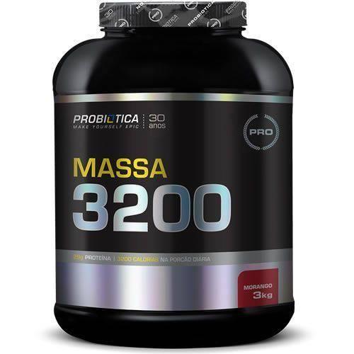 Tudo sobre 'Massa 3200 - 3Kg - Probiótica'