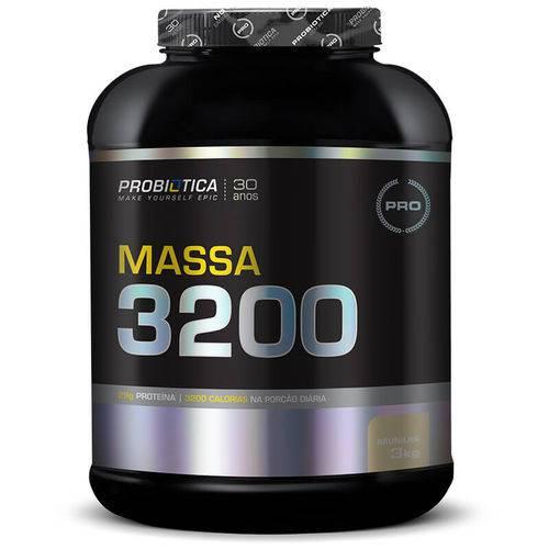 Tudo sobre 'Massa 3200 (3KG) Probiotica'