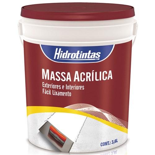 Massa Acrílica 3,6L Hidrotintas