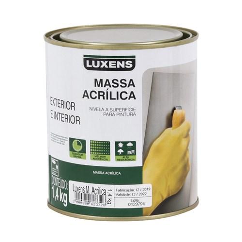 Massa Acrílica Luxens 1,4Kg