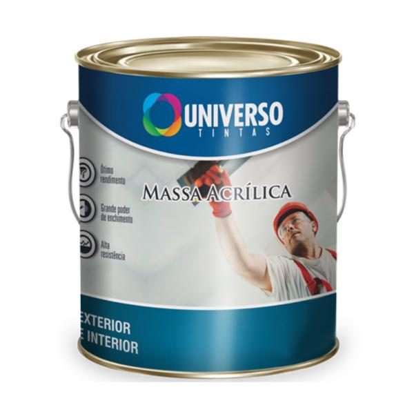 Massa Acrílica Universo 27 Kgs
