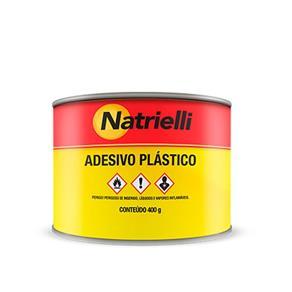 Massa Adesiva Plástica Cinza 400 Gramas