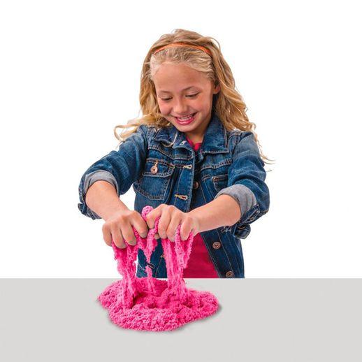 Tudo sobre 'Massa Areia Kinetic Sand Colorida Rosa - Sunny'