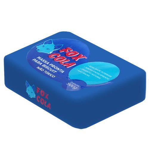 Massa de Biscuit - 900g - Azul Marinho - Fox