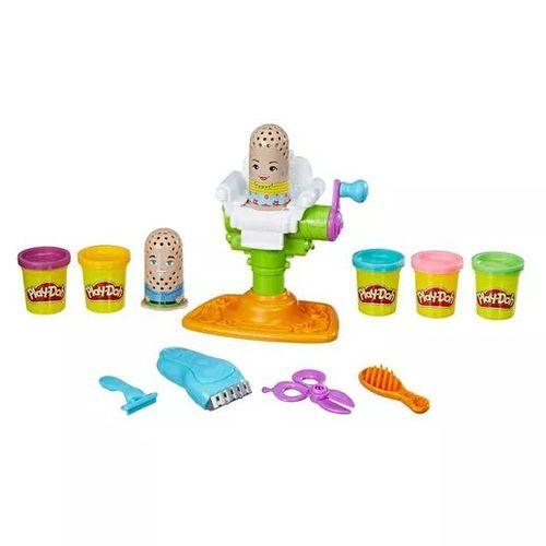 Massa de Modelar Barbearia Divertida Play Doh Hasbro