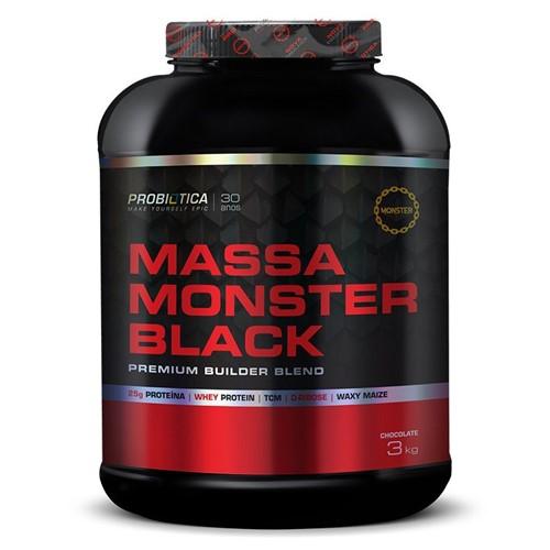 Tudo sobre 'Massa Monster Black (3kg) Probiótica'