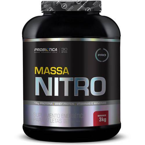 Tudo sobre 'Massa Nitro 3kg - Morango'