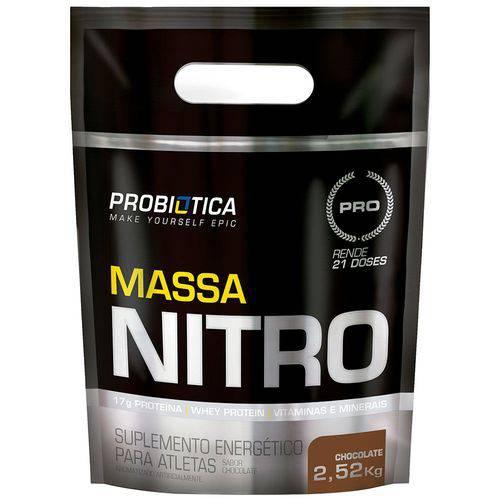 Tudo sobre 'Massa Nitro Refil 2,52kg'