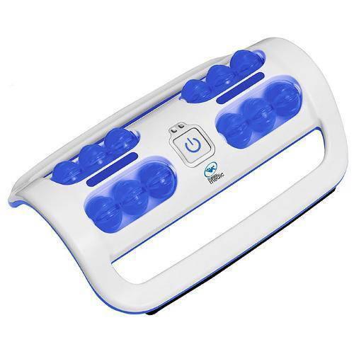 Massageador de Pés com Vibração Portátil Foot Relax Massager Cor Azul, Rm-Fm03 - Relaxmedic