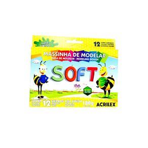Massinha de Modelar Soft Acrilex C/12 Un Único
