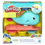 Massinha Play-doh Baleia Divertida - Hasbro