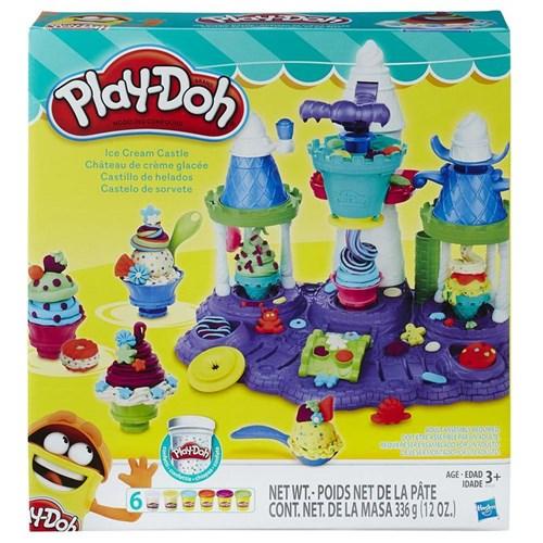 Massinha Play-Doh - Castelo de Sorvete - HASBRO
