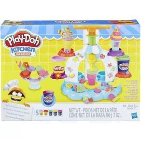 Massinha Play-doh Sorveteria Divertida Hasbro