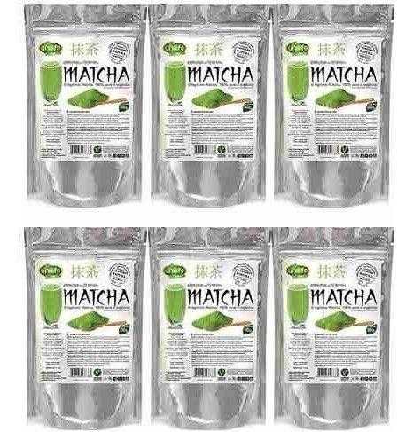 Matcha Puro e Organico Legítimo Sóluvel 6X30G Unilife (Natural)