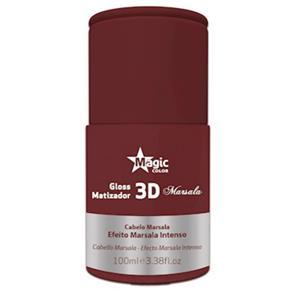 Matizador 3d Marsala 100 Ml Magic Color