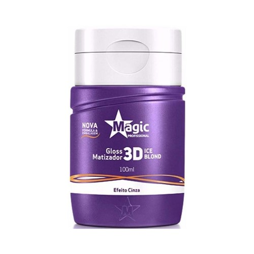 Matizador Magic Color Efeito Cinza 100ml