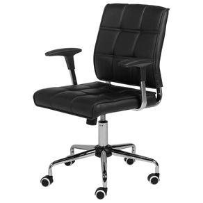 Tudo sobre 'Maver Cadeira Executiva Cromado/preto'