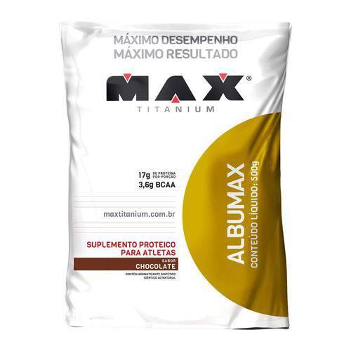 Max Titanium Albumax 100% 500g Chocolate