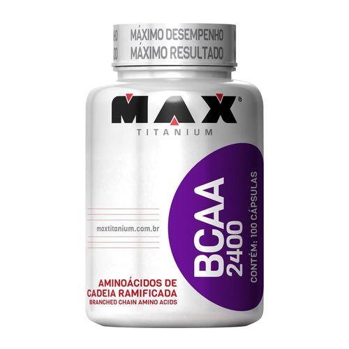 Max Titanium Bcaa 2400 100 Caps