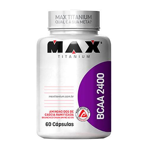 Max Titanium - Bcaa 2400 60 Caps (pa.09.02.0009)