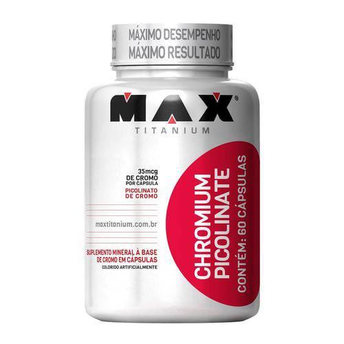 Max Titanium Chromiun Picolinate 60 Caps
