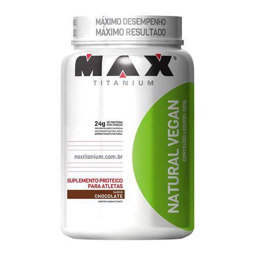 Max Titanium Natural Vegan 500g Chocolate