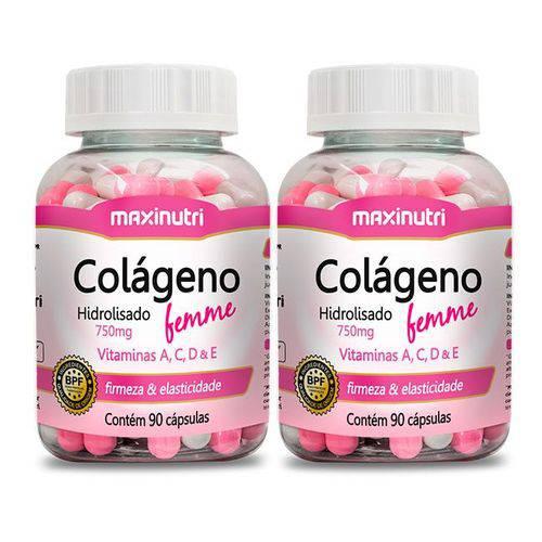 Tudo sobre 'Maxinutri - 2 Colágeno Hidrolisado Femme 90 Cápsulas'