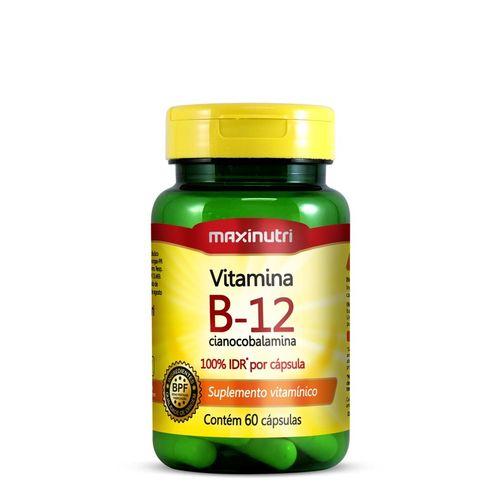 Maxinutri Vitamina B12 60 Cápsulas