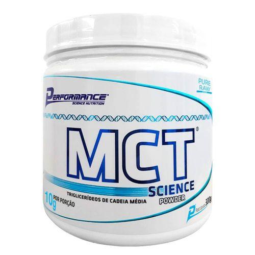 Tudo sobre 'MCT Science Powder 300g - Performance'