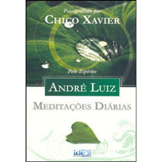 Meditacoes Diarias - Andre Luiz - Editora Ide