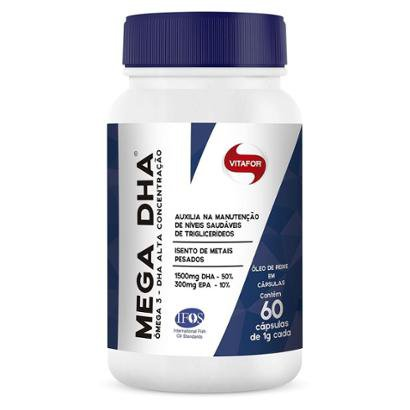 Mega Dha 60 Cápsulas Vitafor