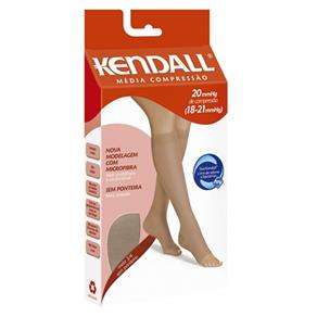 Meia 3/4 Kendall Media Compressão Sem Ponteira - XG