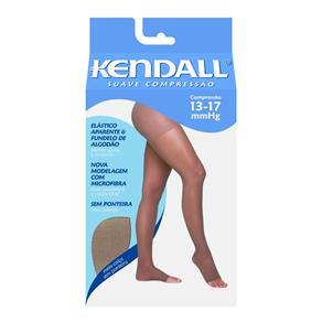 Meia Calça 13-17 Suave Kendall Mel Ponteira Aberta M - Bege - M