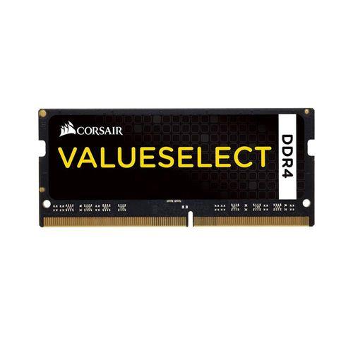 Tudo sobre 'Memória Corsair Valueselect 4GB DDR4 2133Mhz para Notebook | CMSO4GX4M1A2133C15 2328'